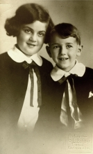 Herta Coufalova and her brother Harry Glasner