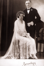 Wedding photo of Ilona and Laszlo Czitrom