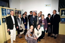 Opening of a show of paintings by Viktor Munk