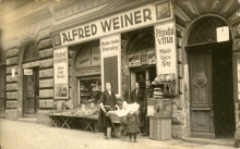 The Weiner family shop