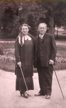 Carl Fischer and his wife Charlotta