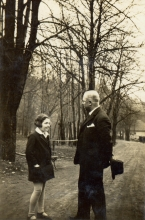 Artur Bloch and his daughter Marietta Smolkova