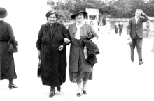 Erna Kolbova with her mother-in-law