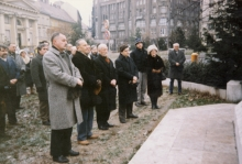 Wreath-laying on the Deak Square