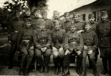 Imre Lunczer in the army