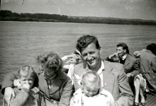 Gyorgy Popa and family