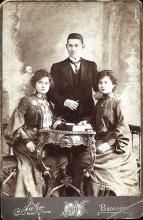 Jozefin Oblath, Ferenc Oblath and Netka Weinberger