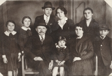 The Fischer family in the 1920s