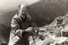 Alfred Borowicz in the Tatra Mountains