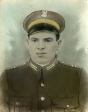 Henryk Prajs as a Polish Army soldier