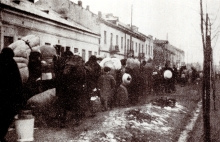 The resettling of Jews from Gora Kalwaria to the Warsaw ghetto