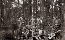 Mieczyslaw Najman in the Polish Army training camp in the USSR