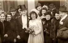 Rozalia Unger's cousin's wedding picture