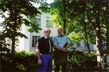 Tomasz Miedzinski and his son Zbigniew Miedzinski