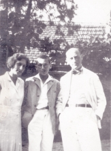 Alexandru, Margareta and Andrei Popper