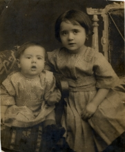 Jak and sister baby photo