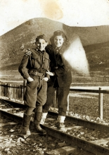 Rahela Perisic and her brother Moric Albahari